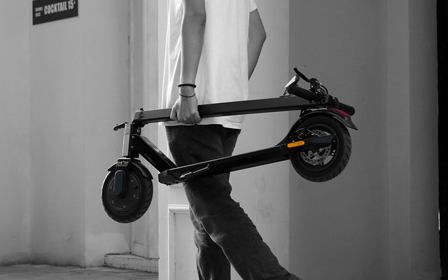 cityblitz cb064sz moove e scooter jetzt bestellen fritz. Black Bedroom Furniture Sets. Home Design Ideas